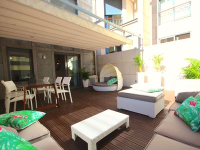 Photo for Batuan Duplex apartment in Campo de Ourique with WiFi, air conditioning, private parking, private t…