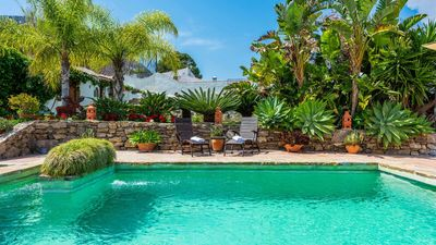 Photo for BBQ-provided holiday villa with rustic style in Frigiliana