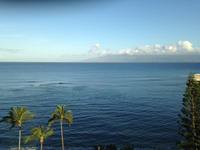 Wonderful Ocean View from our private lanai !