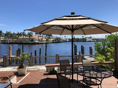 Photo for Beautiful Intracoastal Water View WALKING TO BEACH 3 Rooms Family Home
