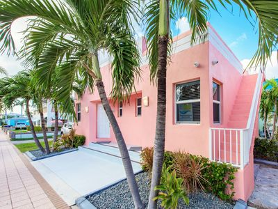 Photo for Cool Tide at Art Deco Beach Bungalows - 1 Block to Hollywood Beach Boardwalk!