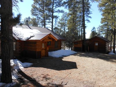 Photo for La Plata Mountains Cabins - 2 Cozy Log Cabins In SW Colorado Near Mesa Verde NP