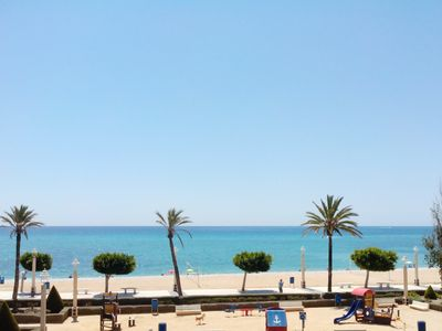 Photo for Altea large front line apartment, sleeps 6, near the harbour