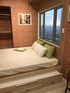 Photo for Grass residences sm north cozy comfortable stay qc - jeff