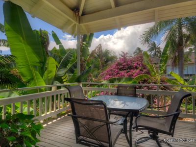 Photo for Garden View 2-bd 2-ba Cottage w/ Resort Pool for Two-Four - AC in Both Bedrooms