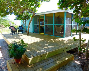 Photo for Driftwood Cottage: Classic Old Florida Beachfront Bungalow Newly Renovated!