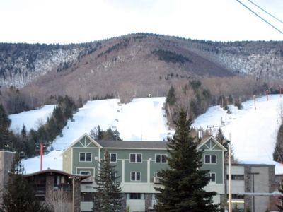 Photo for Hunter Mountain New York, Luxurious Ski Condo on top of the Base Lodge