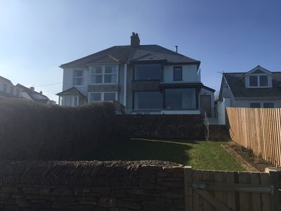Photo for Perfectly located, stylish family holiday home with sublime seaviews, sleeps 10