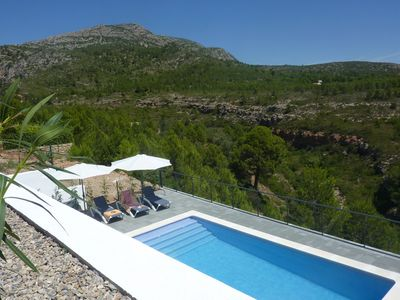 Photo for Modern villa with private pool and stunning views of nature