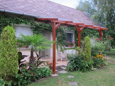 Photo for Holiday house with swing, barbecue and gazebo