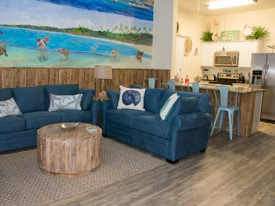 Photo for NEW LISTING! All New 2BR/2Bath Walking Distance to Beach and Packery Channel