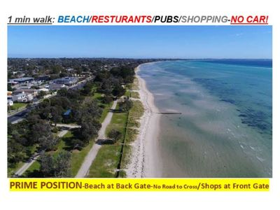 Photo for 932 ON THE BEACH-30 sec walk Beach/Pubs,Cafes, Shops @ Front Door