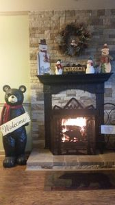 Property is decorated for the Holiday Season.  FREE FIRE WOOD AVAILABLE