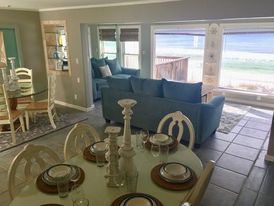 Photo for Beachfront Bliss A - SNOWBIRDS - $1995.00/month - RIGHT ON BEACH