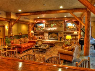 Photo for Keystone 1 Bedroom 2 Bath Sleeps 5 SKI-IN SKI-OUT at The Timbers