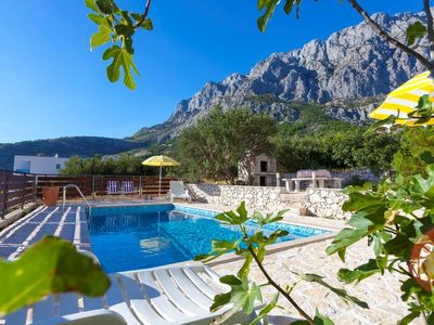 Photo for ctvb149/ The spacious villa with private pool,  four bedrooms and two bathrooms and it is ideal for one or two families with children in Makarska