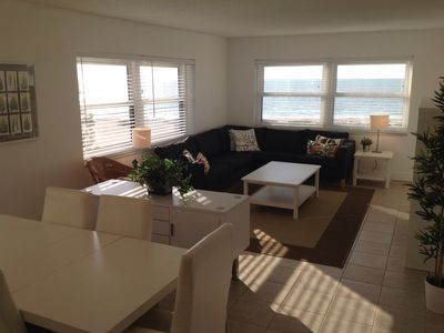 Photo for Corner Unit On The Beach With Great Views
