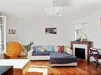 Photo for Beautiful and charming flat for 4 in the centre of Paris