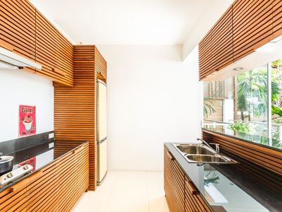 Photo for The Quarter 301 - Luxury Surin 3 bedroom apartment private pool