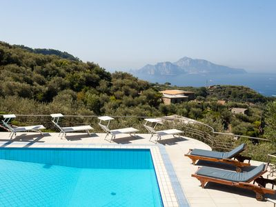Photo for VILLA IDYLLE stunning view Capri