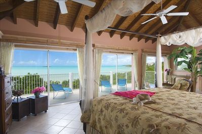 Fantastic views directly from this beautiful master suite!