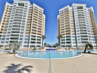 Photo for 4 BR En Soleil Directly on Gulf, Beautiful With Free Beach Chairs.  6th Floor