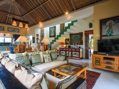 Photo for Villa Semua Suka, the RiceFields of Ubud, 2bd/2ba/a/c/pool/best Bk'fast in Bali