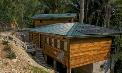 Photo for Casa Santa Maria - Jungle River Retreat, Off-The-Grid, Seclude Get Away.