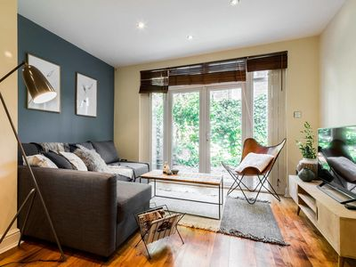 Photo for (1)Beautiful 3 Bed 2 Bath & Garden in Belsize Park