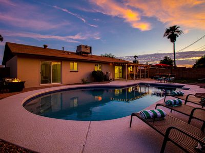Photo for Stunning Modern Remodel w/  Heated Pool Near Old Town Scottsdale and ASU!