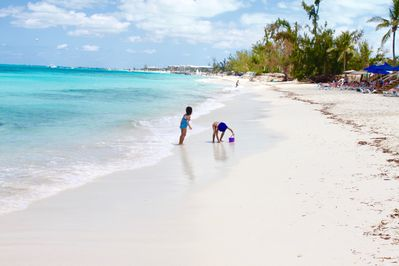 Grace Bay beach - rated #1 beach in the world!