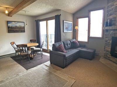 Photo for Penthouse Studio - Ski In-Out, Iron Horse - Balcony - Quiet Corner Unit-  View