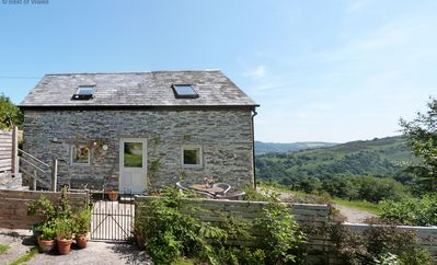 Photo for Lovely Cottage overlooking the beautiful Ceiriog Valley. Games Room on site.