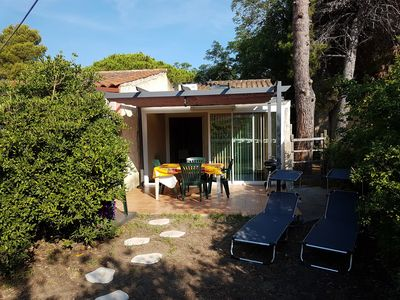 Photo for Mini air-conditioned villa, internet access, near the sea near Bastia