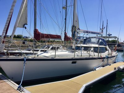 Photo for Superb sailboat of 15 meters Wauquiez Pilot Saloon 48