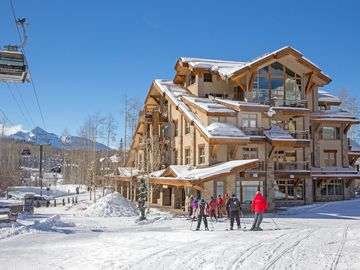 Contemporary Telluride Mountain Village Penthouse - Prime Ski in/out Location