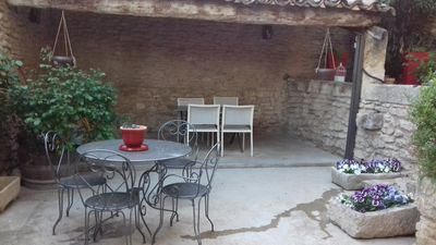 Photo for Charming typical Provencal village house.