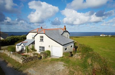 Photo for Merlins Cottage (although more a house) is situated down a quiet dead end track panoramic views.