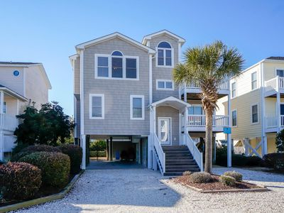 Photo for Beautiful and Beachy 4 Bedroom, 3 1/2 Bath Home With Access to Private Day Dock and Easy Beach Access!