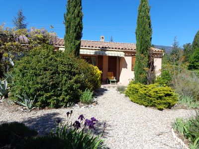 Photo for Bedoin at the foot of Mont Ventoux very beautiful cottage for rent