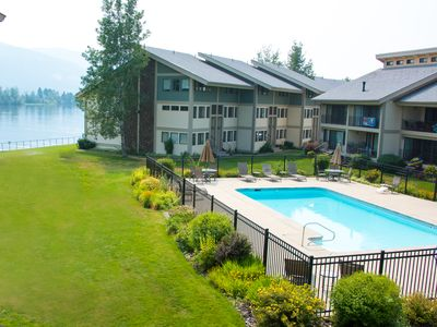 Photo for Newly remodeled condo in Sandpoint, Idaho with boat slip on lake Pend Orielle