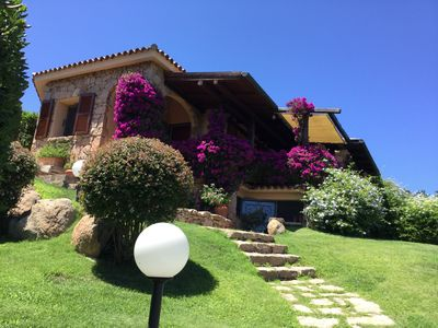 Photo for Sea view villa a stone's throw from the beach