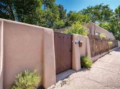 Privacy Gate with Coyote Fence