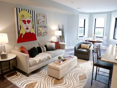 Photo for Stunning Logan Circle Apt~ Sleeps 4