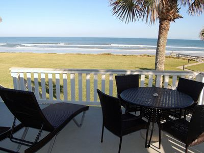 Photo for 'Surf Villa'.. Oceanfront,  stunning condo !  Guests love it!   Updated.