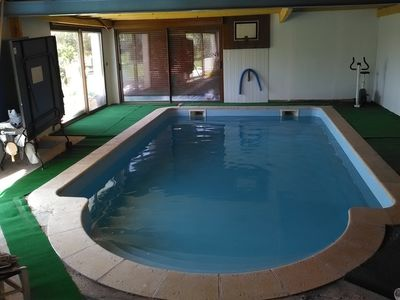 Photo for house with heated indoor pool