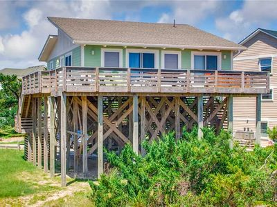 Photo for Great Value Oceanfront home w/ Hot Tub, Wifi, Beach Club + Fishing Pier Access