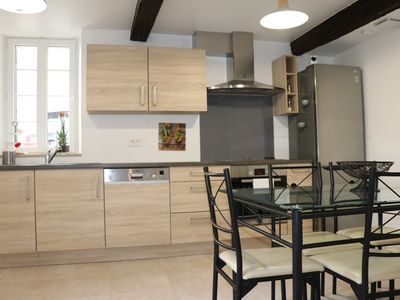 Photo for Charming house in the heart of the Village for 8 adults and 4 children max.