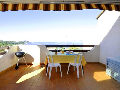Photo for Apartment in a small residence near the beach of agosta (weekly rental)