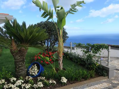 Photo for Garajau penthouse villa with superb sea views from Funchal to the Desertas.